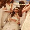 Bridal Shower Dresses Celebration in Good Morning Pakistan