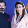 Hamza Ali Abbasi and Ayesha Khan Aaj TV's Ramzan Transmission 2016