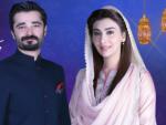Hamza Ali Abbasi and Ayesha Khan Aaj TV's Ramzan Transmission 2016
