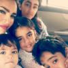 Nadia Hussain With Her Children