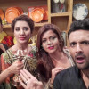 Pakistani Celebrities having fun at Mehmaan Nawaz