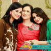 Fatima Effendi with Mother and Sister
