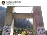 Hadiqa Kiani Enjoying Northern Areas See Pictures