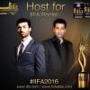 Fawad khan First Pakistani Hosting IIFA Awards