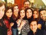 Pakistani Celebrities Enjoyed Sehri together