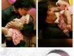 Sahir Lodhi with his daughter