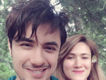Ali Zafar with his Wife Pics