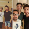 Sami Khan, Yasir Hussain and Imran Abbas Pictures from India