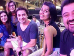 Pakistani Celebrities during LSA 2016 Rehearsals