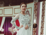 Ayeza Khan at Mazak Raat Eid show