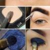 Blue Eyeliner Makeup Ideas Step by Step Tutorial