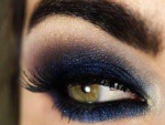Blue Eyeliner Makeup Ideas Step by Step Tutorial
