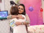 Javeria Abbasi with Daughter in Good Morning Pakistan