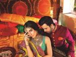 Bridal Photo Shoot Of Maya Ali And Junaid Khan by Nomi Ansari
