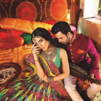 Bridal Photo Shoot Of Maya Ali And Junaid Khan by Nomi Ansari