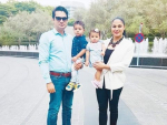 Veena Malik with family Pictures
