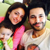 Sarwat Gilani and Fahad Mirza Family Picture