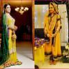 Latest Dresses for Mehndi Event 2016
