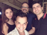 Fawad and Mahira At Asim Raza Birthday