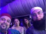 Junaid Jamshed With Pakistani Celebrities