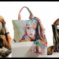 Digital Print Handbags 2016