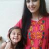 Maya Ali With Child Actress Maryam Khalif