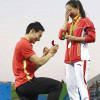 Chinese Diver Proposes His Girlfriend in Rio Olympics