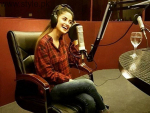 Sajal Ali At Radio Station