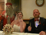 UK Bride Take Harry Potter Theme for Her Marriage