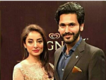 Sarwat Gilani and Fahad Mirza at Magnum Party 2016