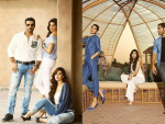 Cast of Dobara Phir Se for PepeJeans Photoshoot
