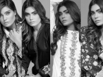 Bonanza Garments Black And White Dress Collection 2016 For Women