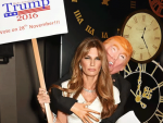 Jamima Khan in Halloween Costume to Make Perfect Statement of Trump