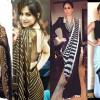 Latest Black Sarees Fashion Trend 2016