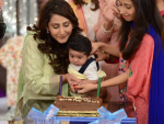 Pari Hashmi with baby in Good Morning Pakistan