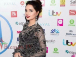 Armeena Rana Khan and Rahim Pardesi at Asian Media Awards in UK