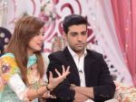 Furqan Qureshi and Sabrina in Good Morning Pakistan