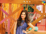 Spotted Ayesha Omar long shirt Fashion