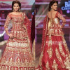 Saba Qamar Show Stopper For Erum Khan Couture At BCW 2016