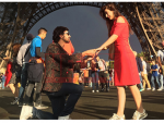 Farhan Saeed Proposing Urwa Hocane in Paris Pictures