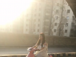 Urwa Hocane Riding Scooty On Streets Of Karachi