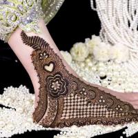 Mehndi Designs 2016 for Feet Decoration