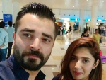 Hamza Ali Abbasi and Mahira Khan Pictures from Dubai
