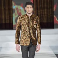 Mens Collection by Abdul Samad at PFW 10 London