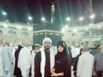 Anum Fayaz Performing Umrah With Husband