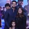 Fahad Mustafa with family at premiere of 3 Bahadur