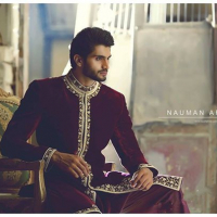 Men Sherwani Collection 2016 By Nauman Arfeen