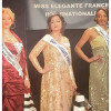 Pakistani Woman Gets Miss Elegant 2017 Award in France