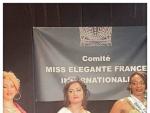 Pakistani Woman Gets Miss Elegant 2017 Award in France