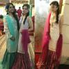 Arisha Razi and Sara Razi at a Wedding
